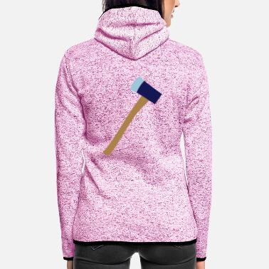 Axe axe - Women's Hooded Fleece Jacket