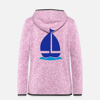 Sailboat sailboat - Women's Hooded Fleece Jacket