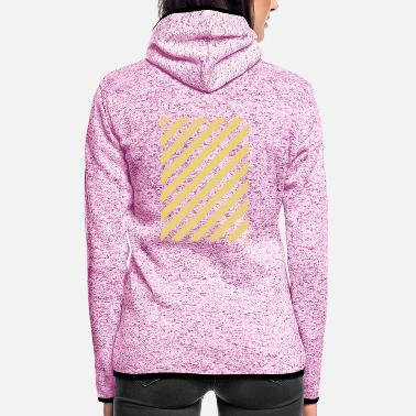 Pattern Pattern - Women's Hooded Fleece Jacket