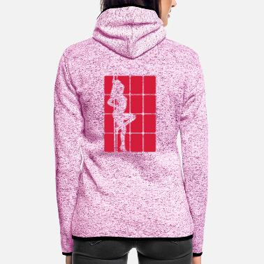 Strip Strip - Women's Hooded Fleece Jacket