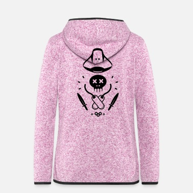 Piracy LITTLE PIRATE - Women's Hooded Fleece Jacket
