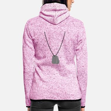 Tag Dog tags / dog tags - Women's Hooded Fleece Jacket