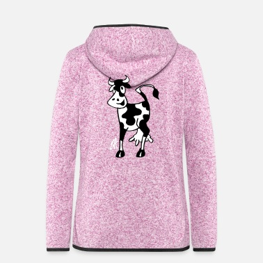 Koe Cow - Women's Hooded Fleece Jacket