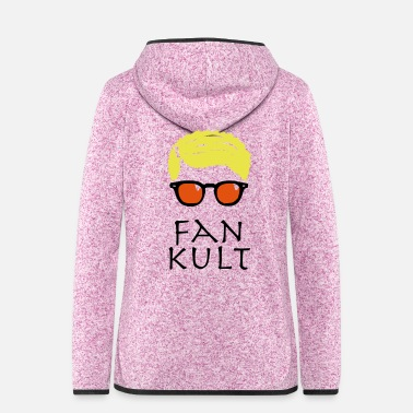 Kult Fan Kult - Frauen Fleece Kapuzenjacke