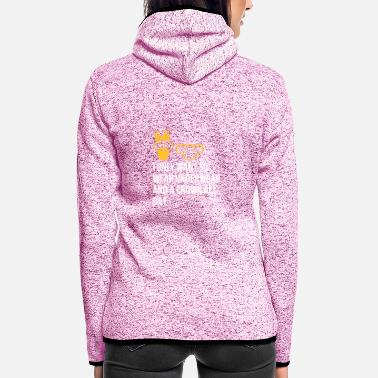 Unemployed Underwear I Only Want To Wear Underwear And A Crown - Women's Hooded Fleece Jacket