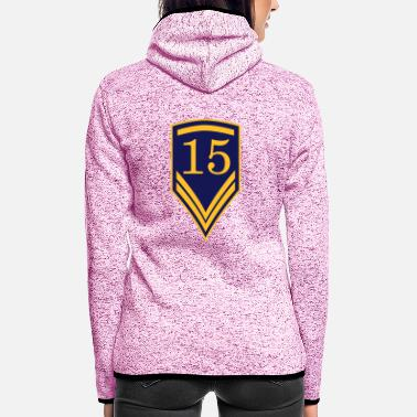 1915 Gift for the 15th Birthday - 15 years - Women's Hooded Fleece Jacket