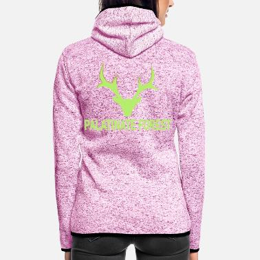 Wild Palatina hunting fever - Women's Hooded Fleece Jacket