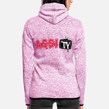 Tv ASSI TV - Frauen Fleece Kapuzenjacke
