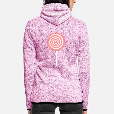 Lolli lolli - Frauen Fleece Kapuzenjacke