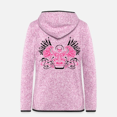 Deejay God Is A Deejay - Women's Hooded Fleece Jacket