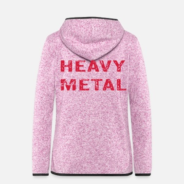 Heavy Metal Heavy Metal - Fleeceluvjacka dam