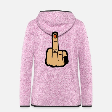 Finger finger fuck 603 - Women's Hooded Fleece Jacket