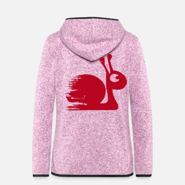 Tuning turbo snail - Women's Hooded Fleece Jacket