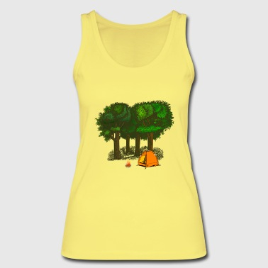 Camping, camping - Women's Organic Tank Top by Stanley & Stella