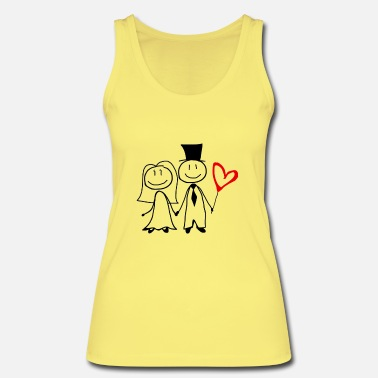 Wedding Party Wedding couple Wedding Hen party - Women's Organic Tank Top by Stanley & Stella