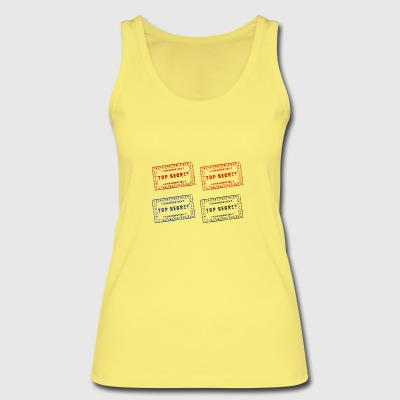 Stamp - Women's Organic Tank Top by Stanley & Stella