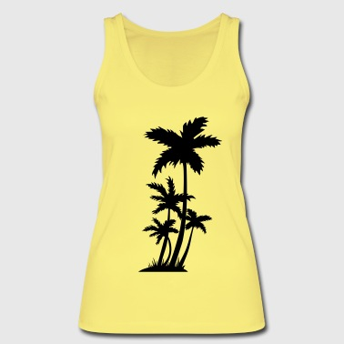 palm trees - Women's Organic Tank Top by Stanley & Stella