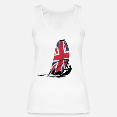 Uk UK Surfing - Frauen Bio Tank Top von Stanley & Stella