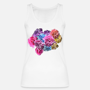 Rose Roses & Roses - Women's Organic Tank Top by Stanley & Stella