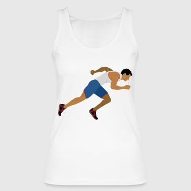 Athlete (sprinting) - Women's Organic Tank Top by Stanley & Stella