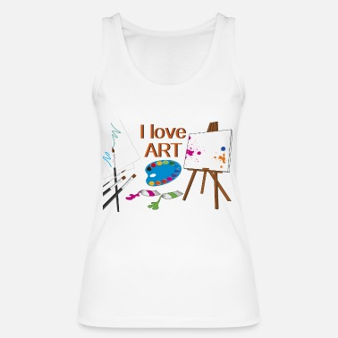 Painting to paint - Women's Organic Tank Top by Stanley & Stella