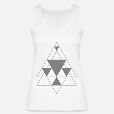 Triangle triangle - Women's Organic Tank Top by Stanley & Stella