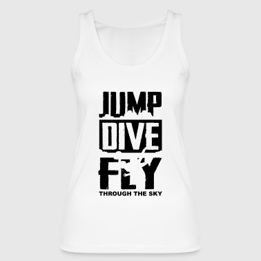 Jump, Dive, Fly - Fallschrim - Women's Organic Tank Top by Stanley & Stella