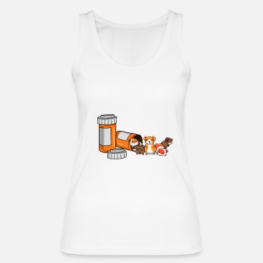 Guinea Pig Guinea Pig guinea pig guinea pig - Women's Organic Tank Top by Stanley & Stella