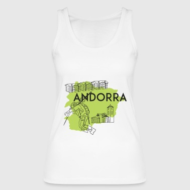 Country Andorra - Women's Organic Tank Top by Stanley & Stella