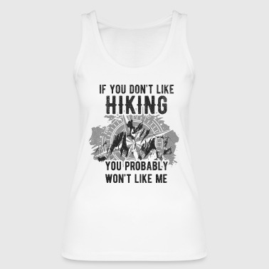 Mountaineering hiking shirt mountains compass gift - Women's Organic Tank Top by Stanley & Stella