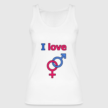 I Love Sex I love sex - Women's Organic Tank Top by Stanley & Stella