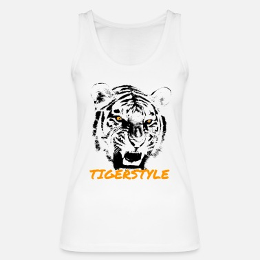 Tiger Tiger Head - Women's Organic Tank Top