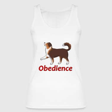 Obedience AS foot - Women's Organic Tank Top by Stanley & Stella