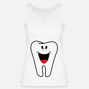 Tooth tooth - Women's Organic Tank Top by Stanley & Stella