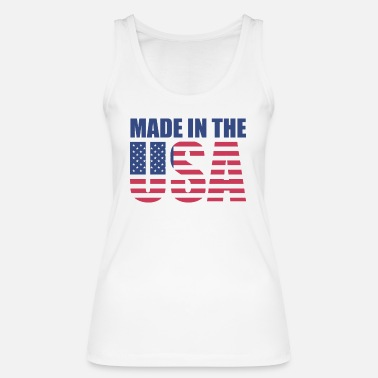 Made in the USA - Women's Organic Tank Top by Stanley & Stella