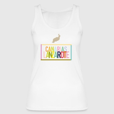 Lanzarote - Canary Islands (Canarias) - Women's Organic Tank Top by Stanley & Stella