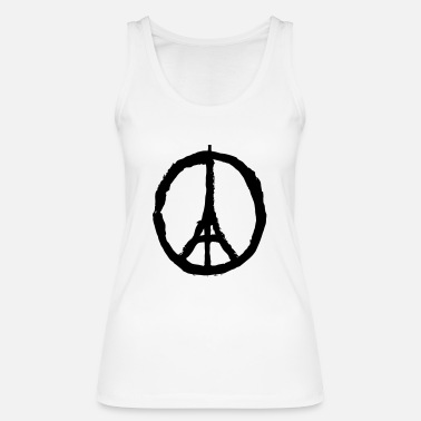 Pray For Paris Pray for Paris - Women's Organic Tank Top by Stanley & Stella