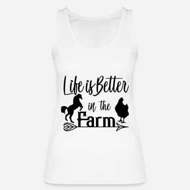 Farming farm - Women's Organic Tank Top by Stanley & Stella