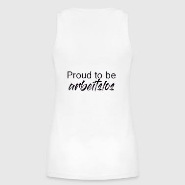 Unemployed Proud to be unemployed - Women's Organic Tank Top by Stanley & Stella