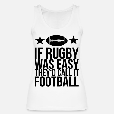 Rugby rugby - Women's Organic Tank Top