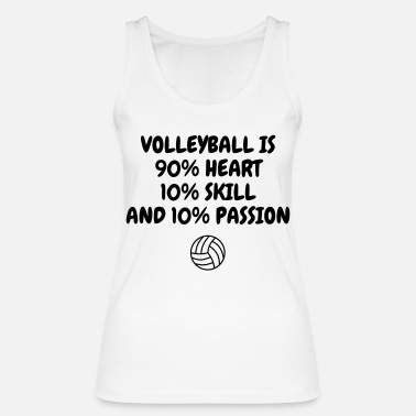 Volley-ball Volleyball - Volley Ball - Volley-Ball - Sport - Camiseta de tirantes orgánica mujer
