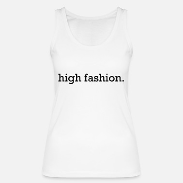 high fashion black - Frauen Bio Tanktop