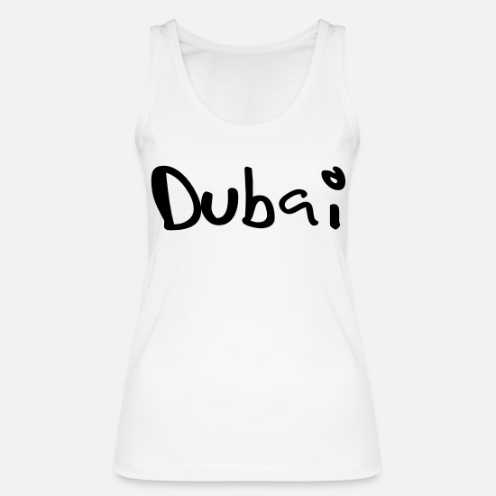 Town Tank Tops - Dubai - Women's Organic Tank Top white