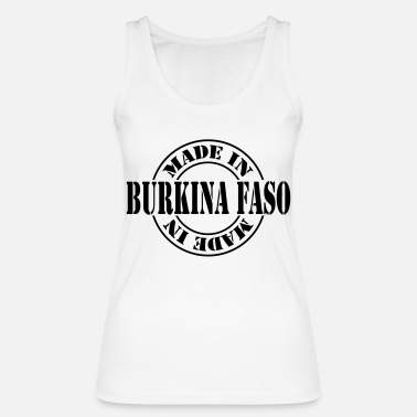 Burkina Faso made in burkina faso m1k2 - Vrouwen bio tank top