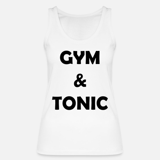 Body Builder Tank Tops - Bodybuilding Gym Workout Muscle - Women's Organic Tank Top white