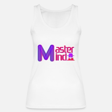 Clever Mastermind letters zeggen Clever Clever Agent - Vrouwen bio tank top