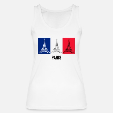 PARIS Eiffel Tower Europe - Women's Organic Tank Top
