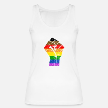 Fierté Colormore Fierté LGBT Rainbow Flag Philly - Débardeur bio Femme