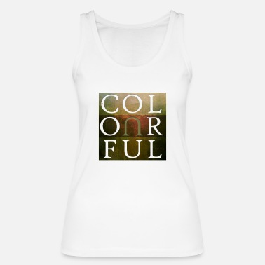 Cubes Colourful Cube #6 - Frauen Bio Tanktop