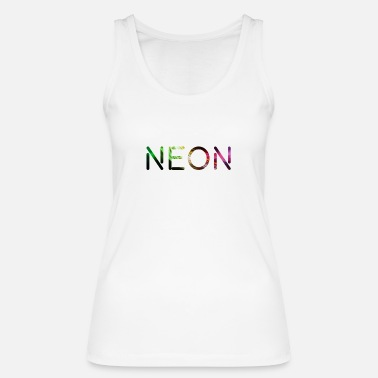 Neon Neon Light Color Color Party - Økologisk tanktop dame